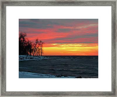 Winter Solstice Eve Framed Print