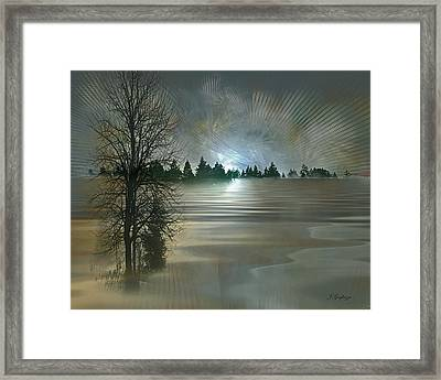Winter Solstice Framed Print by Jean Gugliuzza