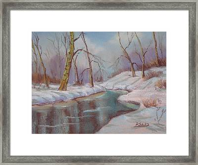 Winter Solstice Framed Print by Patricia Seitz