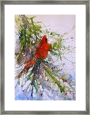 Winter Song Framed Print by Sandra Strohschein