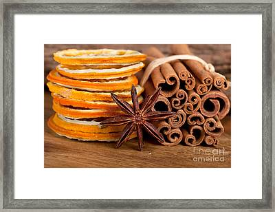 Winter Spices Framed Print