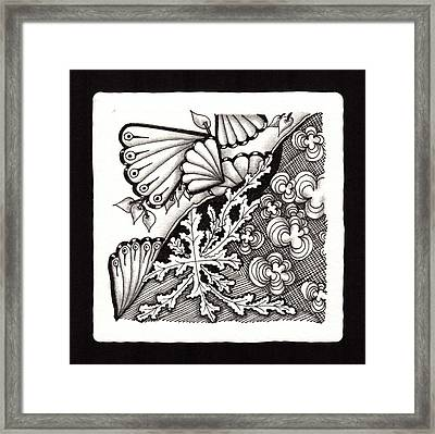 Winter Spring Summer 'n Fall Framed Print