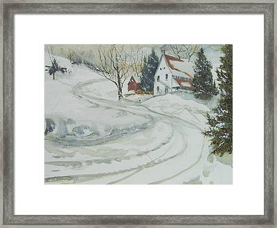 Winter Start Framed Print
