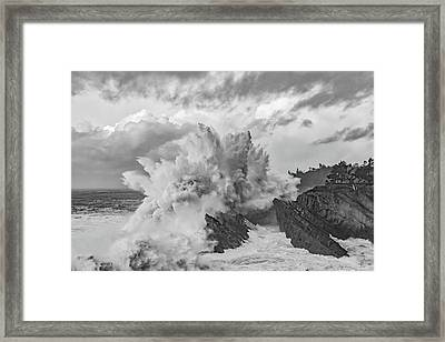 Winter Storms Framed Print
