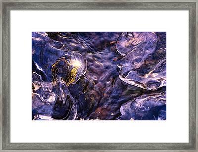 Winter Streams Framed Print