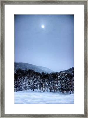 Winter Sun Framed Print by Jonny D