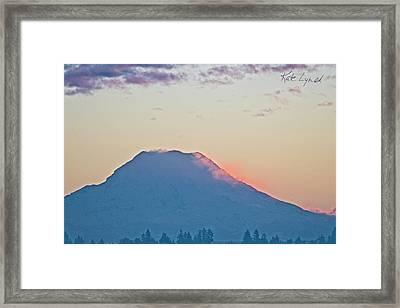 Winter Sunrise II Framed Print