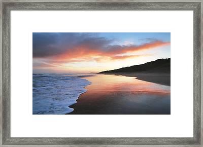 Winter Sunrise Framed Print by Roy McPeak