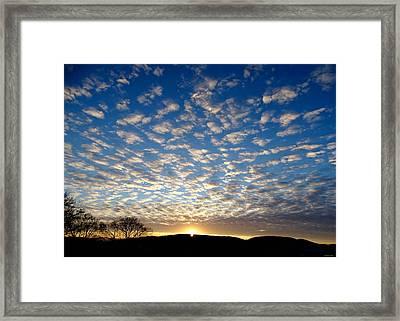 Winter Sunset 3 Framed Print