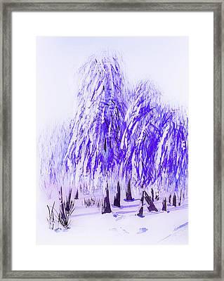 Winter Framed Print by Svetlana Sewell