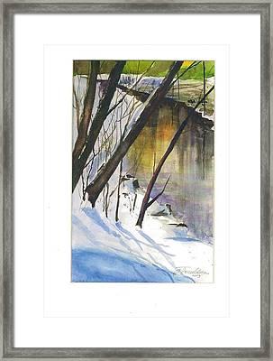 Winter Tale Framed Print