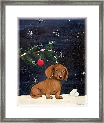 Winter Framed Print by Tammy Brown