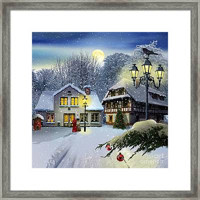 Winter Time ... Christmas Time Framed Print
