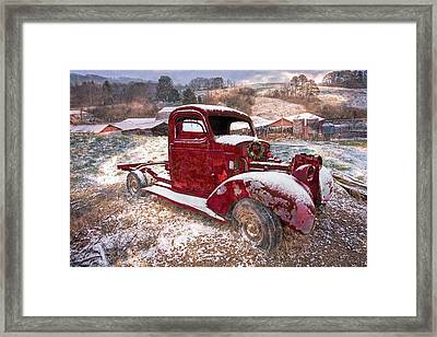 Winter Treasures Framed Print