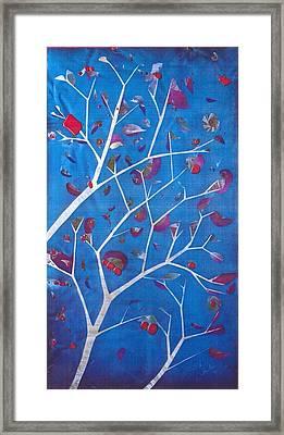 Winter Tree Framed Print by Rick Silas