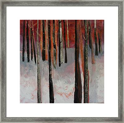 Winter Trees 1 Framed Print