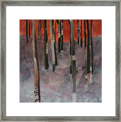 Winter Trees 2 Framed Print