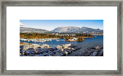 Winter Vancouver Framed Print by Alexis Birkill