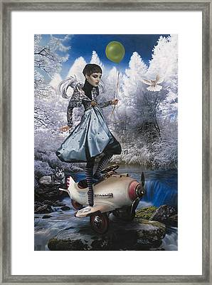 Winter Framed Print by Vic Lee