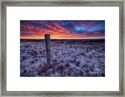 Winter Views Framed Print by Ian McGregor