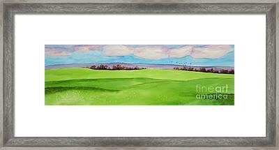 Winter Wheat Framed Print