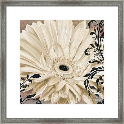 Winter White I Framed Print by Mindy Sommers