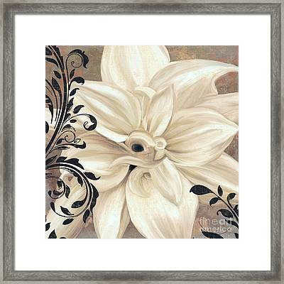 Winter White II Framed Print by Mindy Sommers