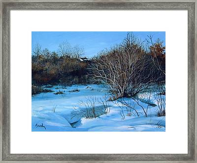 Winter Framed Print by William  Brody