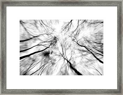 Winter Winds Framed Print by Doug Hockman Photography