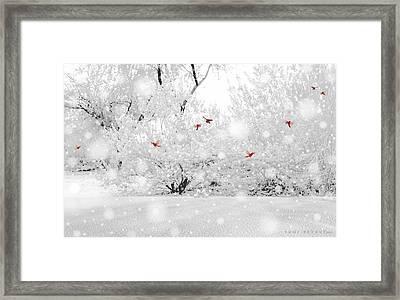 Winter, Winter Framed Print