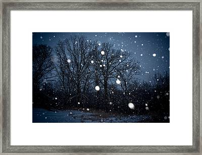 Framed Print featuring the photograph Winter Wonder by Annette Berglund