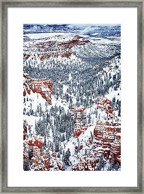 Winter Wonder Framed Print by James Marvin Phelps