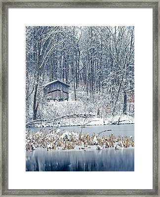 Winter Wonderland 1 Framed Print by SharaLee Art
