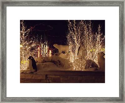 Winter Wonderland Framed Print by Anna Villarreal Garbis