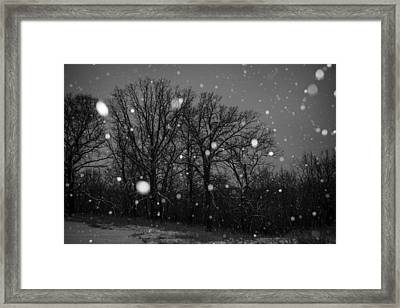 Framed Print featuring the photograph Winter Wonderland by Annette Berglund