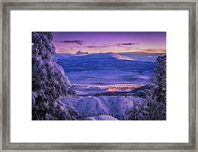 Winter Wonderland Framed Print by Edgars Erglis