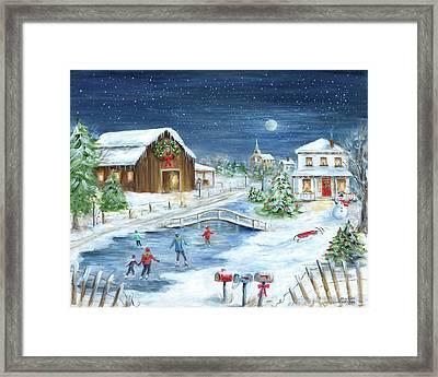 Winter Wonderland II Framed Print