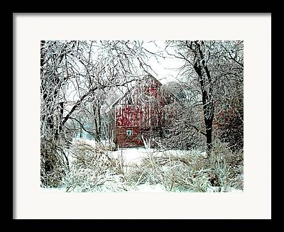 Rural Decay Digital Art Framed Prints