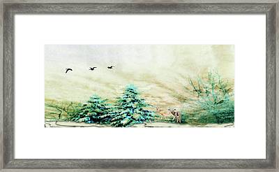 Winter Wonderland Framed Print by Mike Breau