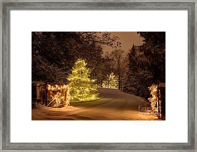 Winter Wonderland Minnesota Framed Print