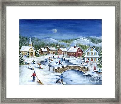 Winterfest Framed Print