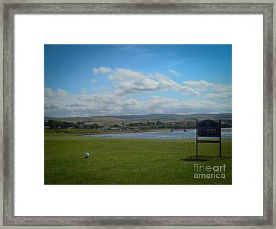 Winterfield Golf Club Framed Print