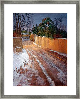 Winterlight Framed Print