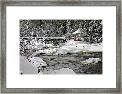 Winter's Blanket Framed Print by Mary Amerman
