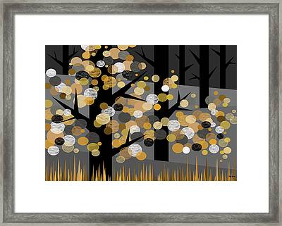 Winters Edge Framed Print by Val Arie