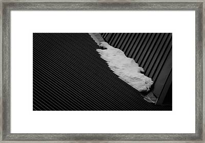 Framed Print featuring the photograph Winters End by Tim Nichols