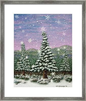 Winter's Eve 01 Framed Print