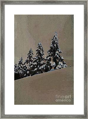 Winters Eve Framed Print