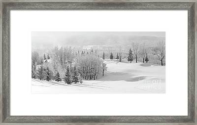 Winter's Gentle Kiss Framed Print