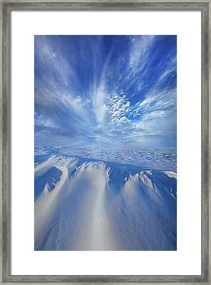 Framed Print featuring the photograph Winter's Hue by Phil Koch